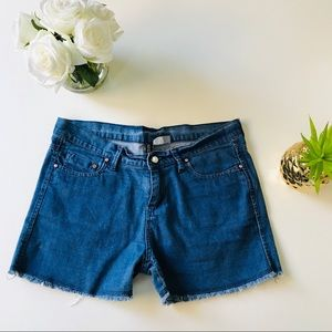 H&M Divided Jean Shorts Size 10
